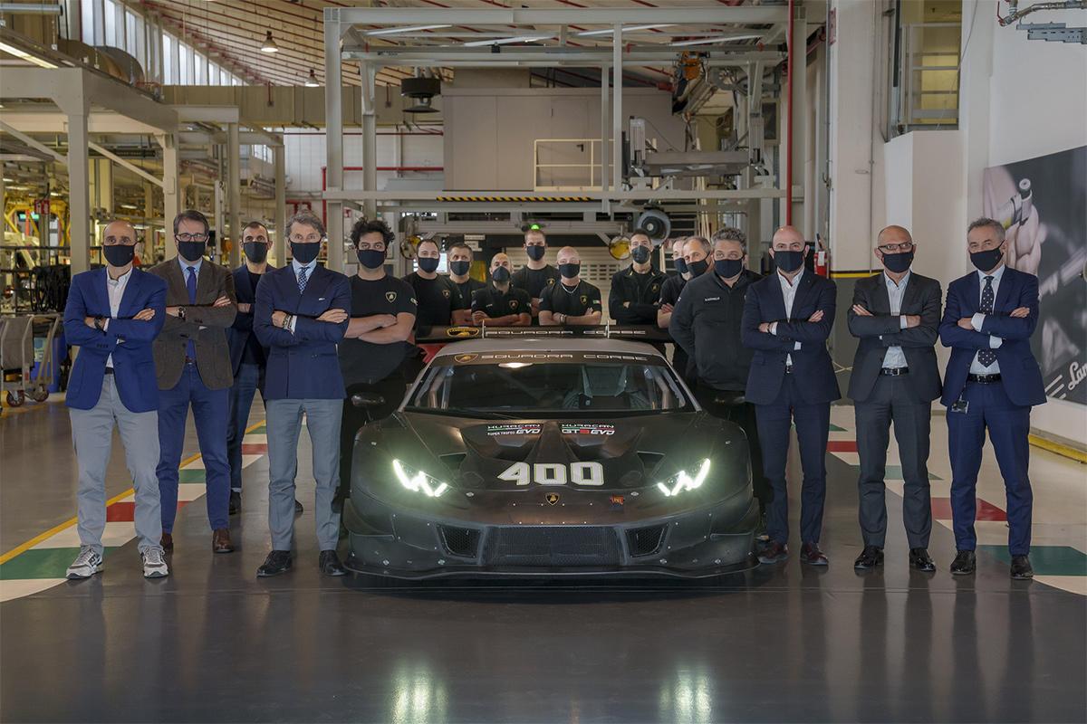 Lamborghini, Huracán Super Trofeo