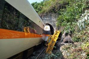 Taiwan: At least 41 people dead as train derails inside a tunnel