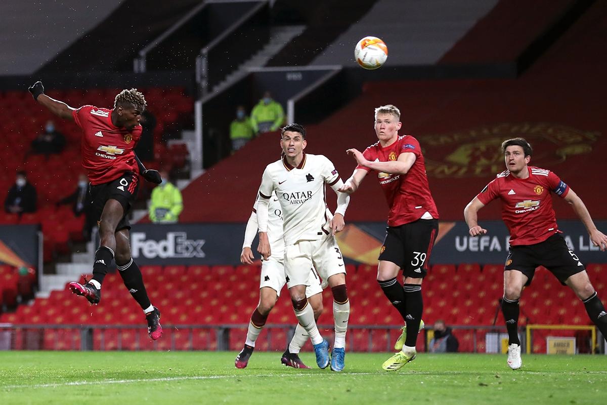 Fernandes, Cavani, Manchester United, Roma, Europa League semi-final