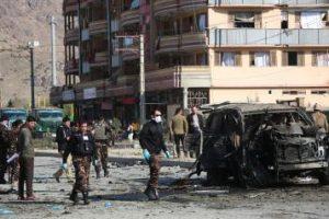 3 people injured as bomb blast hits employees' vehicle in Afghanistan
