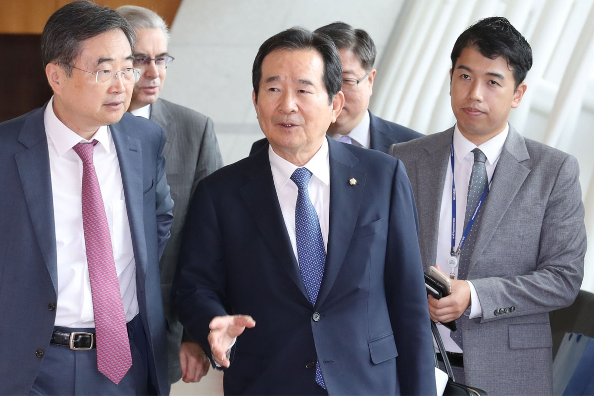 S.Korean, PM, Iran, Chung Sye-kyun