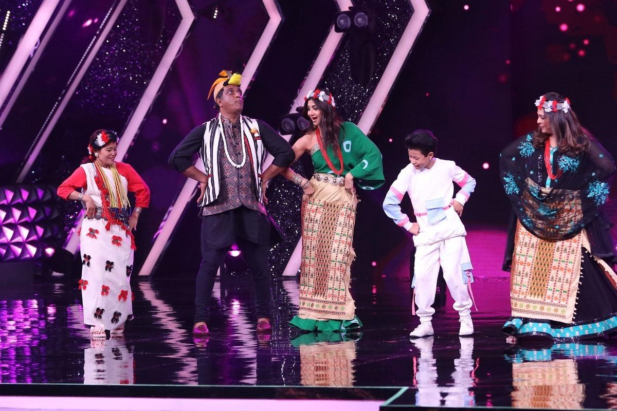 Shilpa Shetty, Geeta Kapur, Anurag Basu