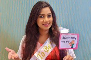 Shreya Ghoshal shares surprise baby shower pictures