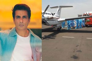 Sonu Sood arranges airlift for critical Covid patient from Nagpur to Hyderabad