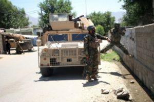 Afghan university bus hits roadside bomb, 4 dead
