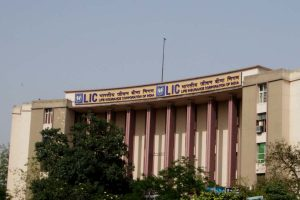 LIC's holding at all time low on profit booking