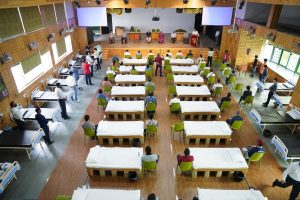 Convent school converts its auditorium into 40-bedded Covid care