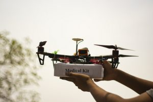 Experimental drone flights for vaccine delivery, aim to provide last mile Healthcare access