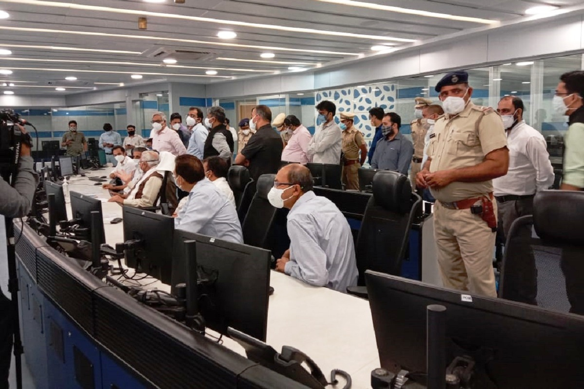 Integrated Command and Control Centre, Gurugram, Manohar Lal Khattar, COVID19 pandemic