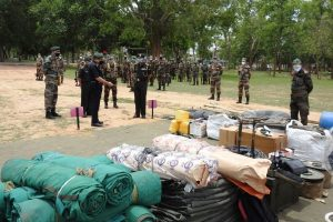 Armed forces swing into action in flooded areas