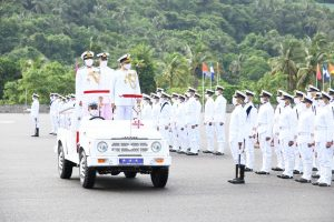 Passing out Parade of Spring Term 2021 held at Indian Naval Academy