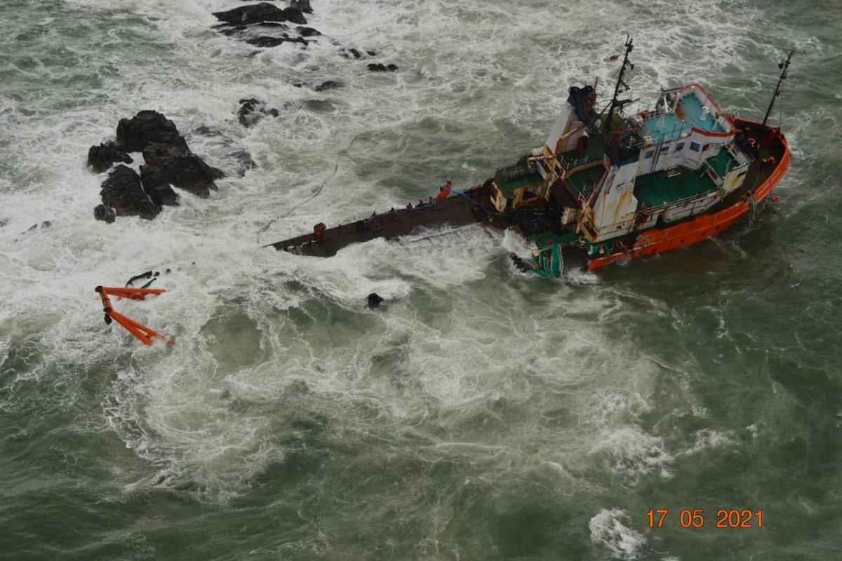 Cyclone Tauktae, Indian Navy, Arabian Sea