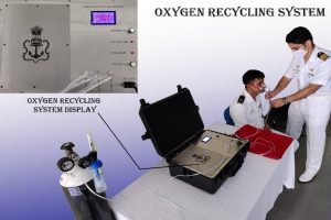 Indian Navy designs Oxygen Recycling System to mitigate current oxygen crisis