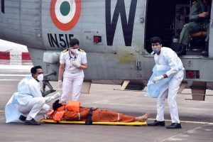 Indian Navy: Braving the storm to save lives