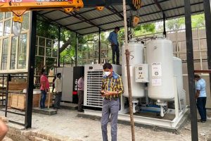Oxygen plants installed at AIIMS, RML will be up and running in a day