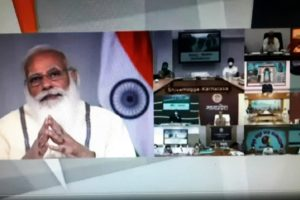 PM interacts with State and District Officials on COVID-19 situation