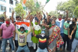 West Bengal Assembly Elections live updates: TMC leading in 199 seats, wins 13; party likely to form govt