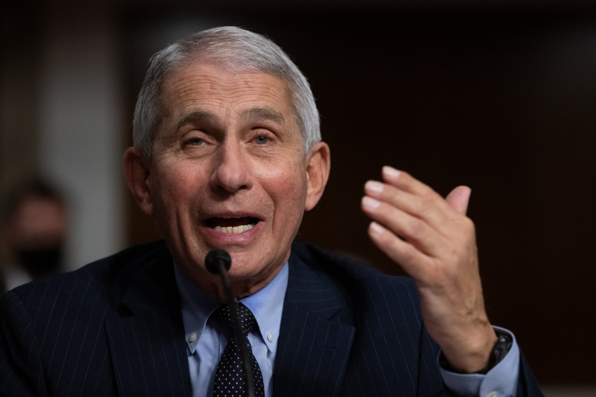 Anthony Fauci 'not convinced' Covid-19 developed naturally