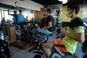 High-intensity exercise generates more aerosols, aids in Covid spread