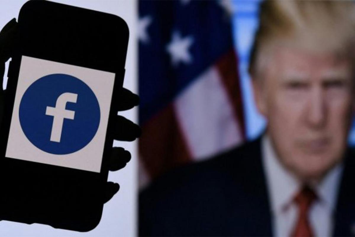 political price, Trump FB ban