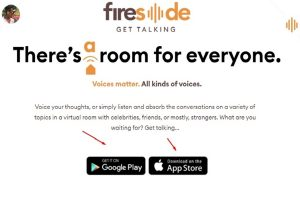 Homegrown audio-only app fireside debuts on iOS, Android