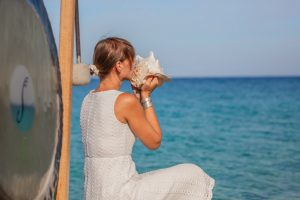 Blow conch shells to keep Covid at bay: Yoga experts