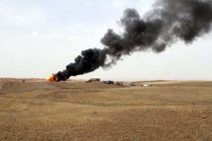 IS blows up 2 oil wells, kills 2 security members in Iraq