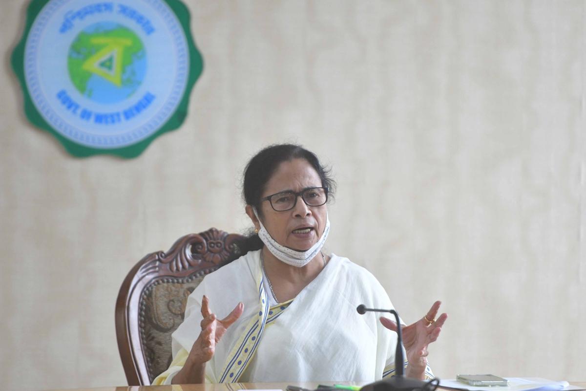 Mamata Banerjee, aerial survey, West Bengal, Cyclone Yaas