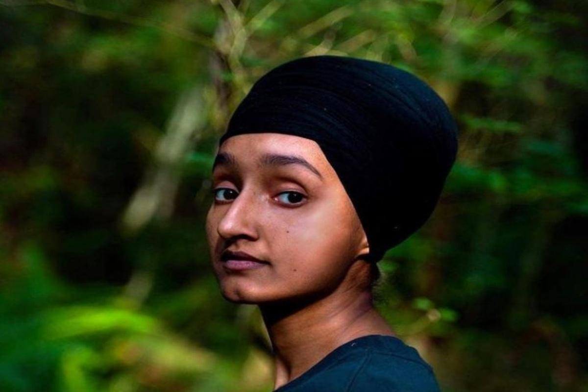 Indian-American artist, Sunroop Kaur, California's anti-Covid campaign