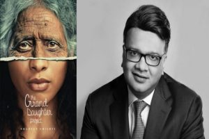 """British-Indian author's debut novel """"The Granddaughter Project"""""""