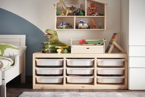 Storage for kids isn't child's play