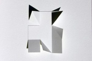 Deconstructing the square space on paper
