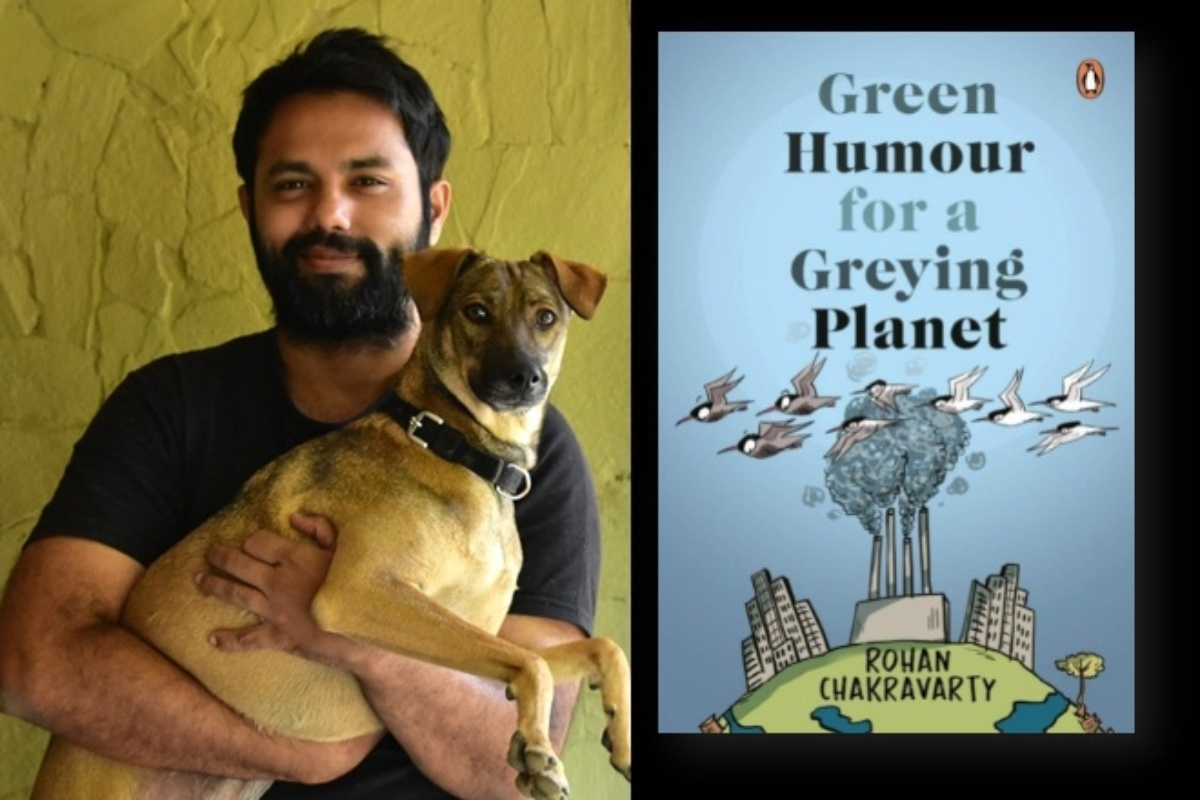 Green Humour for a Greying Planet, Books, New publication, idea of development, Pandemic