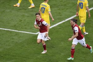 Austria beats Ukraine 1-0 : Euro 2020