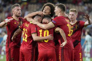 Belgium reaches quarterfinals at Euro 2020