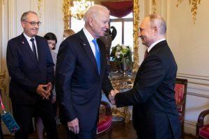 'Pure business' at Biden-Putin summit