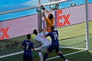 Bizarre own-goal helps Spain advance to last 16 at Euro 2020