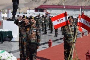 Indian Army pays tributes to Galwan heroes