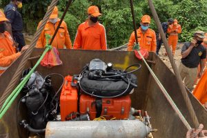 Navy rescue operation ongoing to locate trapped miners in North East