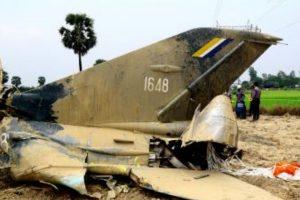 Myanmar: 12 dead in military plane crash