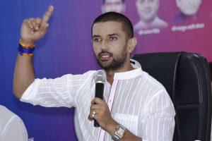 Chirag Paswan accuses uncle Pasupati Kumar Paras of 'conspiring against him' since Ram Vilas Paswan was in ICU
