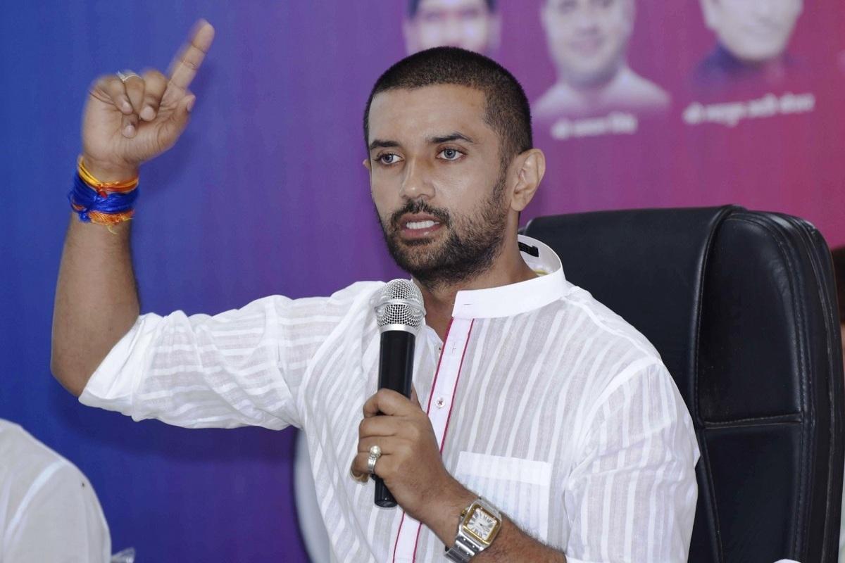 Chirag Paswan, Pasupati Kumar Paras, Ram Vilas Paswan, LJP