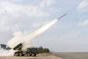 DRDO successfully test-fires Enhanced Range 122mm Caliber Rocket