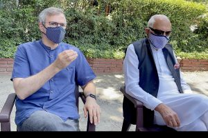 Farooq asks people to wait and watch centre's approach towards removing mistrust in J&K