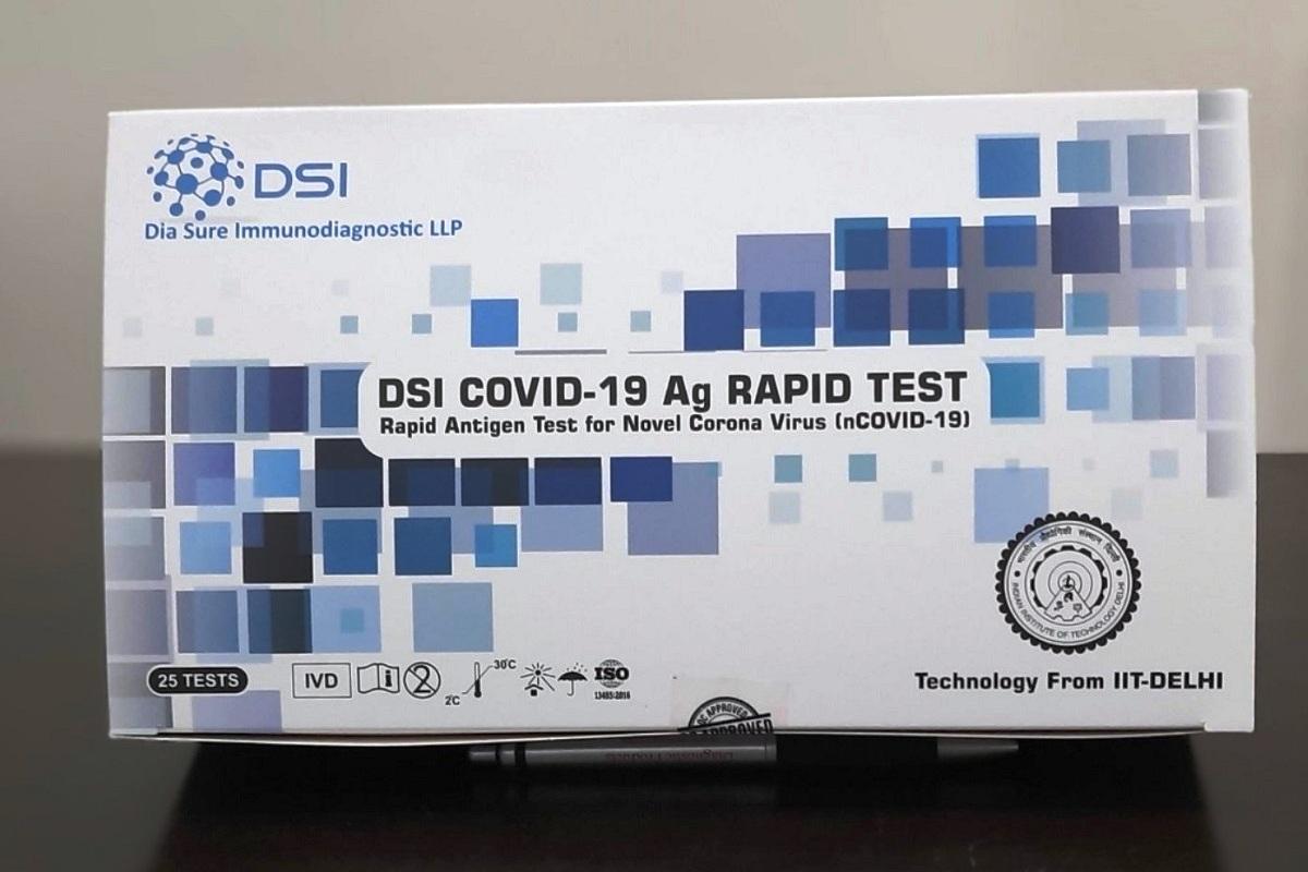 IIT Delhi, Rapid Antigen Test Kit, COVID-19