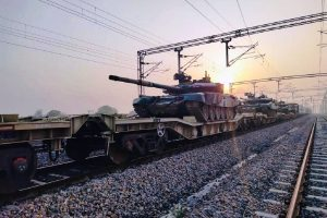 Indian Army conducts rail trials on Dedicated Freight Corridor