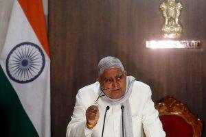 Jagdeep Dhankhar levels serious allegations against Trinamool govt
