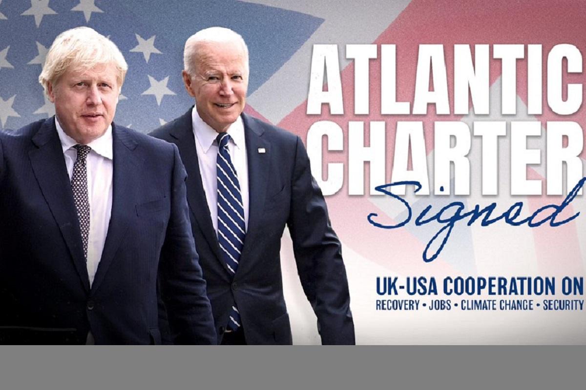 Choreographed Charter, United Kingdom, Russia, Boris Johnson, Atlantic Charter
