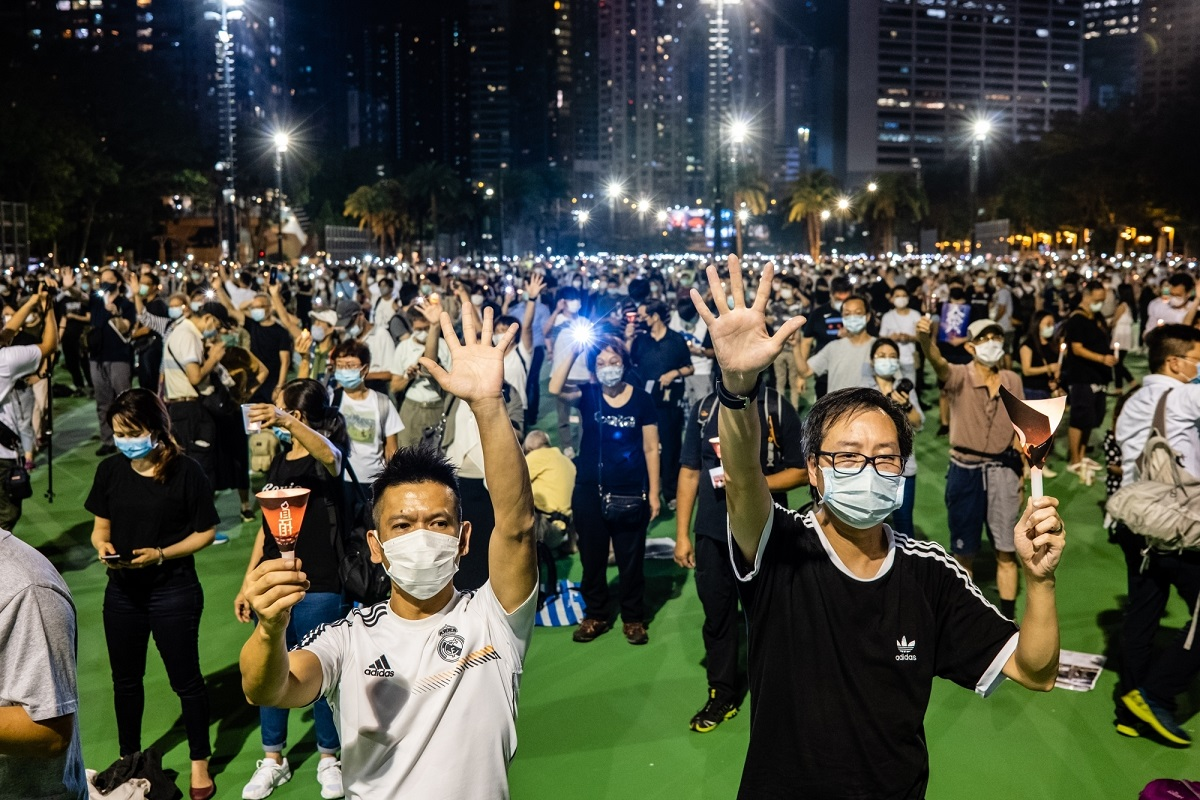 Tiananmen echo, Beijing, Tiananmen Square, Hong Kong