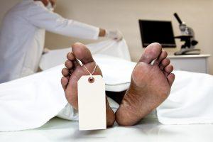 Patient in ICU, death certificate issued